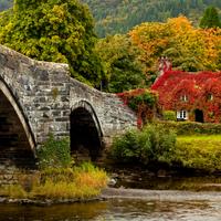 pont y pair bridge - llanrwst
