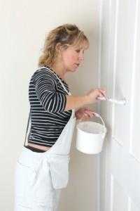 lady painter