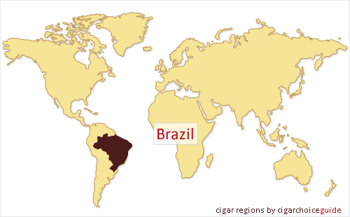 Brazillian cigar region cigars tobacco products from brazil brazil map gumiabroncs