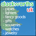 Duckworths UK Pipes, Lighters, Fancy Goods, Gifts, Souvenirs, Watches, Jewelry