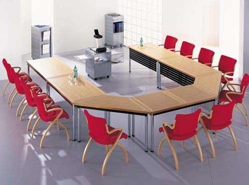 conference table setting