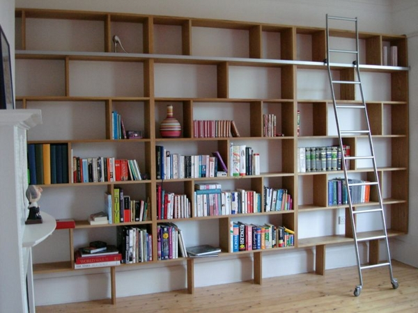 Bespoke American White Oak Bookcase