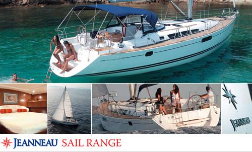 Jeanneau Sail Range